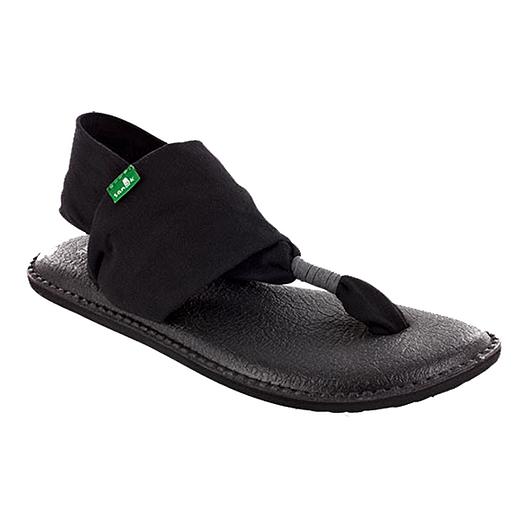 19fc70f3ad1851 Sanuk Women s Yoga Sling 2 Sandals - Black