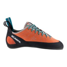 Scarpa Women's Helix Rock Climbing Shoes - Orange/Blue