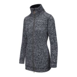 McKINLEY Paulista Long Knit Women's Full-Zip Jacket