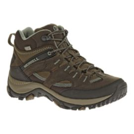 Merrell Women's Salida Trekker Mid Waterproof Day Hiking Boots