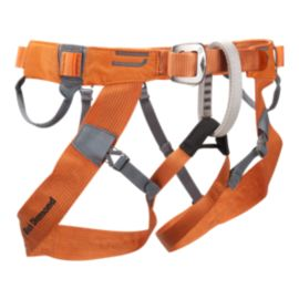 Black Diamond Couloir Climbing Harness - Orange