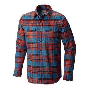 Mountain Hardwear Stretchstone Flannel Men's Long Sleeve Top