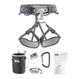 Petzl Corax Climbing Harness Package