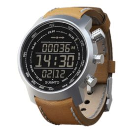 Suunto Elementum Terra Premium Outdoor Watch - Brown Leather