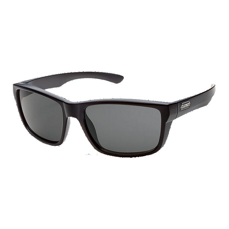 7c2fe47491 Suncloud Mayor Matte Black Polarized Sunglasses