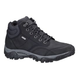 Merrell Men's Moab Rover Mid Waterproof Boots - Black