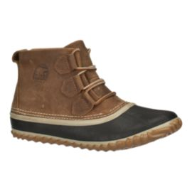 Sorel Women's Out N About Leather  Boots - Brown