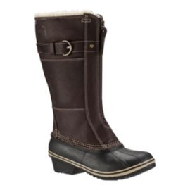 Sorel Women's Winter Fancy Tall 2 Winter Boots - Brown/Black