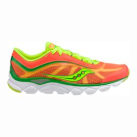 Saucony Women's Grid Virrata Running Shoes - Orange/Green