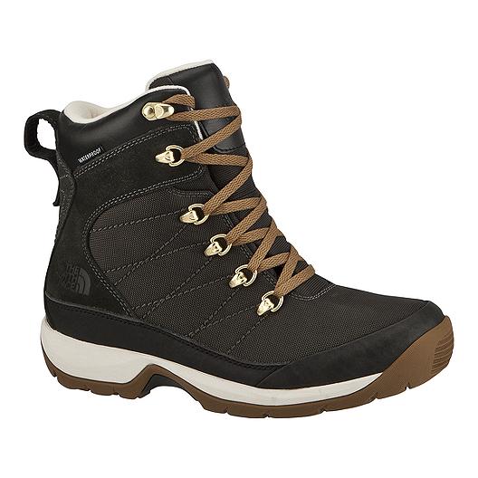 866ff350e The North Face Women's Chilkat Nylon Winter Boots - Black/Green/Brown