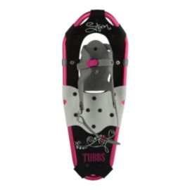Tubbs Girl's Storm 19 inch Snowshoes - Pink/Black