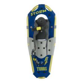 Tubbs Junior Storm 19 inch Snowshoes - Blue/Gold