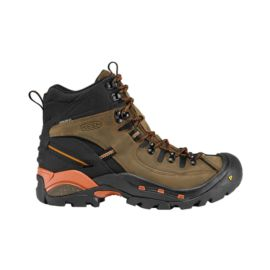Keen Men's Oregon PCT Waterproof Hiking Boots - Brown/Orange