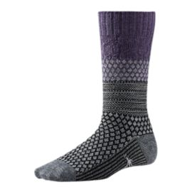 Smartwool Women's Popcorn Cable Crew Casual Socks
