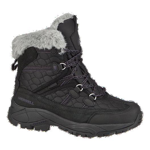 1b11d72a46 Merrell Women's Cannonburg Winter Boots - Black/Grey/Purple