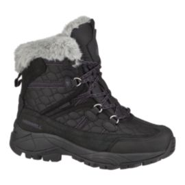 Merrell Women's Cannonburg Winter Boots - Black/Grey/Purple
