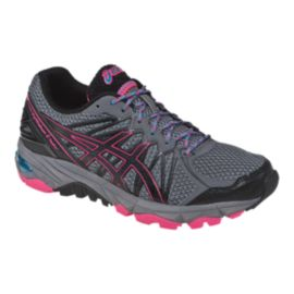 ASICS Women's Gel Fuji Trabuco 3 Trail Running Shoes - Grey/Pink