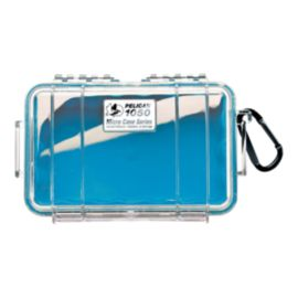 Pelican 1040 Micro Case - Blue/Clear