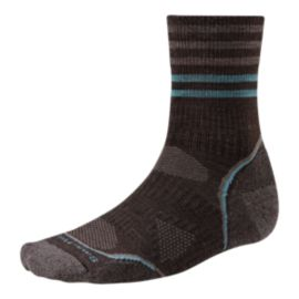 Smartwool Men's PhD Outdoor Light Pattern Mid Crew Socks