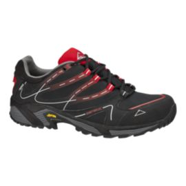 McKINLEY Men's Genetic Low Hiking Shoes - Black/Red
