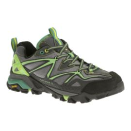 Merrell Women's Capra Sport Hiking Shoes - Grey/Green