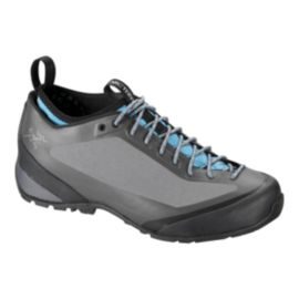 Arc'teryx Women's Acrux FL Hiking Shoes - Grey/Blue - Prior Season