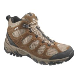 Merrell Men's Hilltop Vent Mid Day Hiking Boots - Brown