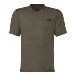 The North Face Reactor Men's V-Neck Short Sleeve Tee