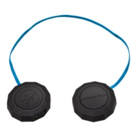 Outdoor Tech Chips Wired Helmet Headphones - Black/Blue