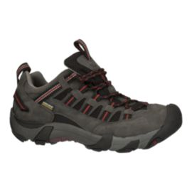 Keen Men's Alamosa Low Waterproof Hiking Shoes - Magnet/Bossa Nova