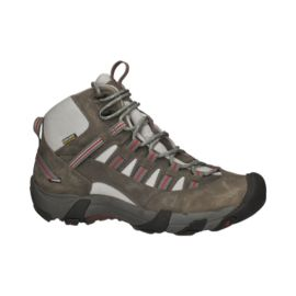 Keen Men's Alamosa Mid Waterproof Day Hiking Boots - Gargoyle/Bossa Nova