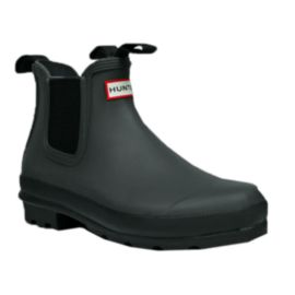 Hunter Women's Original Chelsea Rain Boots - Black