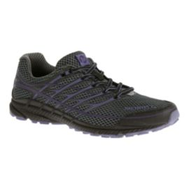 Merrell Women's Mix Master Move Glide Trail Running Shoes - Black/Dark Grey/Purple