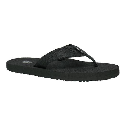 35b530c7896c Teva Men s Mush II Flip Flops - Brick Black