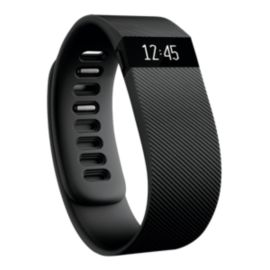 Fitbit Charge HR Fitness Tracker - Black Small