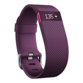 Fitbit Charge HR Fitness Tracker - Plum Small