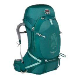 Osprey Women's Aura AG 65L Backpack - Rainforest Green