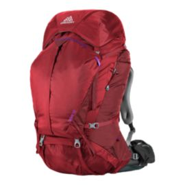 Gregory Women's Deva 70L Backpack - Ruby Red