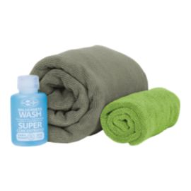 Sea to Summit Tek Towel Large Wash Kit