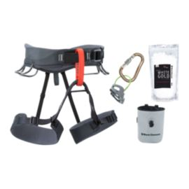 Black Diamond Momentum Climbing Harness Package