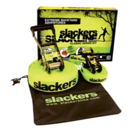 Slackers Classic 15m Slackline with Overhead Teach