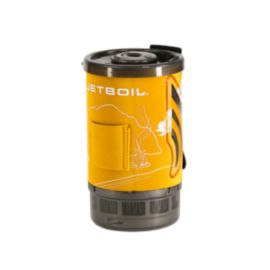 JetBoil Flash Stove Cozy - Orange with Line Art
