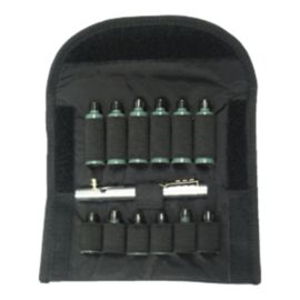 Deluxe Kit Centre Fire Pen 6+6 Pouch