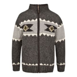 Laundromat Navajo Men's Full-Zip Sweater