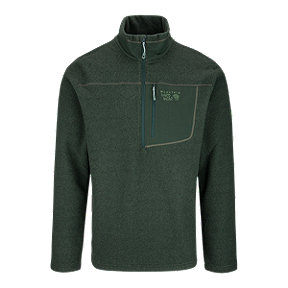 Mountain Hardwear Toasty Twill Men's ½ Zip Long Sleeve Top