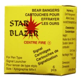 Bear Bangers Centre Fire - 6pcs