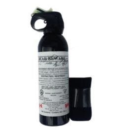 Bear Beware Plus 325 gm Pepper Spray with Holster