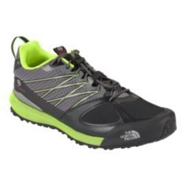 The North Face Men's Verto Approach II Hiking Shoes - Grey/Green