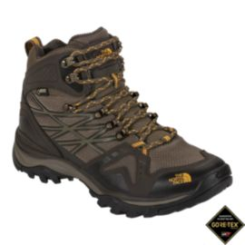 The North Face Men's Hedgehog FastPack Mid GTX Day Hiking Boots - Brown/Orange