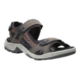 Ecco Men's Yucatan Sandals - Espresso/Black